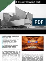 Caso de Estudio Walt Disney Concert Hall
