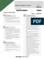 Prova Técnico Judiciário Tribunal de Justiça do Estado do Ceará