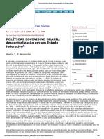 POLÍTICAS SOCIAIS NO BRASIL