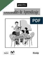 TEXTO - Dificultades de Aprendizaje