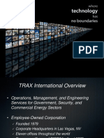TRAX International Presentation