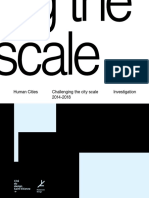 01 Human Cities Challenging the City Scale 2014-2018 Investigation
