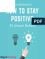 How to Stay Positive1