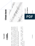 5 brani per pianoforte