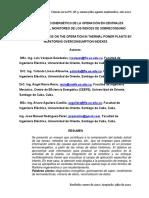 DIAGNOSTICO ENERGÉTICO DE LA OPERACIÓN DE CENTRALES ELECTRICAS