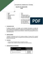 Plan Noche de Talentos Congreso Fe y Pastoral 2018