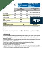 Tarifario de Campania Plazo 05-09-19
