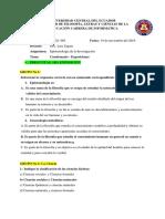 Cuestionario Epistemología - Exposiciones - Pcei1-003