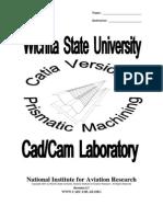 CatiaV5R7 Prismatic Machining Titlepage