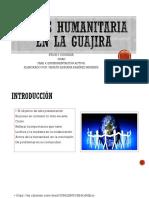 Crisis Humanitaria en La Guajira