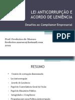 LEI ANTICORRUPÇÃO E O COMPLIANCE EMPRESARIAL 2019