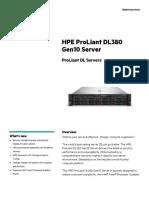 Proliant Dl380 Gen10 Entry
