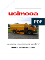 Manual Do Proprietário - LIMPA-PISTAS