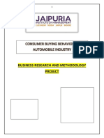 Research on Automobile Industry