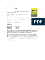 Agassant_Flow Analysis of the Polymer Spreading During Extrusion