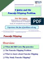 2016 07 Pancake Flipping