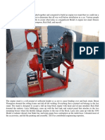 Model a Ford Engine Test Stand