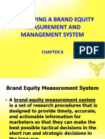 Brand Equity Measurement