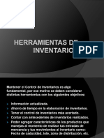 HERRAMIENTAS DE INVENTARIO