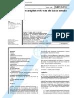ABNT NBR 5410-1997 - Instalacoes Eletricas.PDF