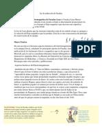 Informacion de Ley de Inducción de Faraday