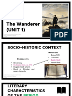 The Wanderer with quotes and notes