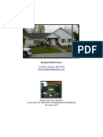a marketing plan for the hartland publilc library