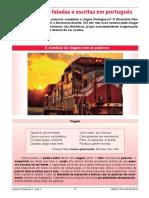 Aula 2 - Língua Portuguesa 1ª Série