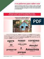 Aula 3 - Língua Portuguesa 1ª Série