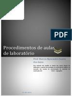 Procedimento de Aulas de Laboratório