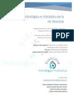 Estudio Hidrológico e Hidráulico de La Vía Azucena