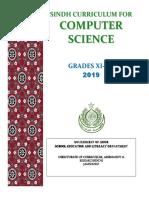 Computer Science Curriculum XI - XII 209 (01!08!19)