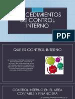 Procedimientos de Control Interno GUIA 11