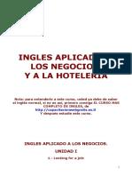 Ingles Aplicado a Los Negocios y a La Hoteleria