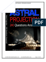 240 Astral Projection Questions