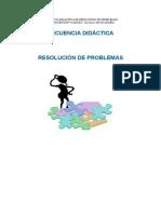 Secuencia Didáctica.resolución de Problemas