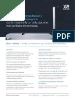 Brochure - FCM3 Corte de Espumas