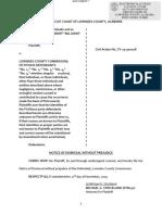 Lowndes Co Sheriff Lawsuit Dismissal