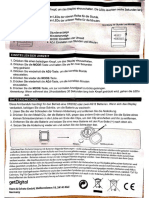 getDigital Binäre Armbanduhr für Profis (Professional Binary Watch) Anleitung Manual