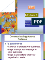 Communicating Across Cultures - Module 03