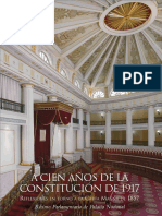 A Cien Años de la Constitución de 1917