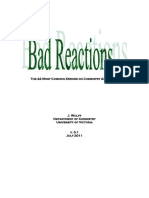 Bad Reactions
