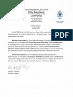 Watertown Police Dept. Nov. 27, 2019