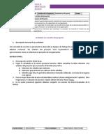 1.4 Los Estudios de Proyecto