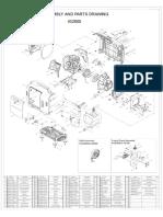 Despiece Generador Inverter Kipor IG2600