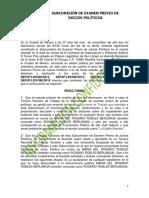 Dictamen de Juicio Político contra Rosario Robles