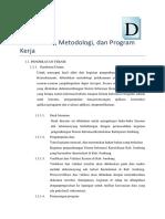 Contoh Pendekatan, Metodologi, Dan Program Kerja