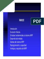 Ejemplo 2 MRP