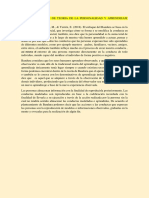 Ideas Principales de Teoria de La Personalidad y Aprendizaje Albert Bandura