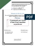 Commande par retour  d'état d'une machine  asynchrone ..pdf